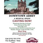 DOWNTOWN ABBEY CASTING
